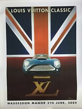 Razzia Poster Louis Vuitton Classic Waddesdon Manor 2004, Signed on Linen