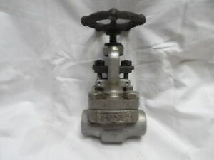"""Emerson 3/4"""" Stainless Steel Gate Valve Class 800 316"""