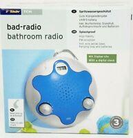 Splash proof Bathroom Shower FM Radio Receiver German Made NEW