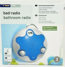 Splash proof Bathroom Shower Fm Radio Receiver German Made New