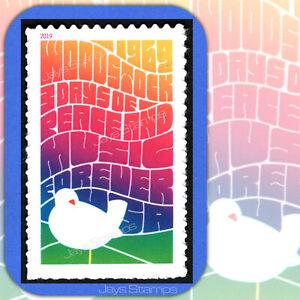 2019 WOODSTOCK Music & Art Fair 50th Anniversary USPS Forever® Single MINT Stamp