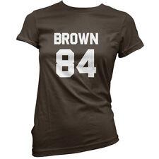 Maglie e camicie da donna marrone in cotone taglia 40