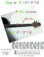 Guitar Book on cd . Learn with easy color coded lessons in Guitar Tab .100+ Pgs