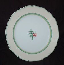 """One 10-5/8"""" Dinner Plate Wedgwood English Cottage Cream with Yellow Rim"""