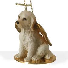 LABRADOODLE cream DOG ANGEL Ornament resin FIGURINE Christmas Lab Doodle blond