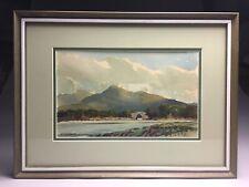 Sean Oconnor Listed Brickeen Bridge Killarney Ireland Watercolor Painting