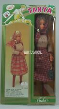 Barbie sized clone doll Tanya Chalet in beautiful fashion from '70's NRFB
