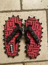 Unique Nuts And Bolts Flip Flops Mens Size 5