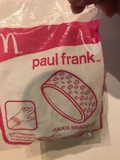 2013 McDONALD'S PAUL FRANK JULIUS Bracelet unopened new happy meal