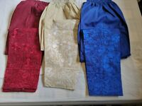 Ladies Pakistani / Indian Embroidered Elasticated Waist  Fashion Cotton Trousers