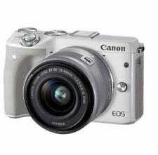 CANON EOS M3 15-45mm Kit 25 Languages Selectable In Camera  - White