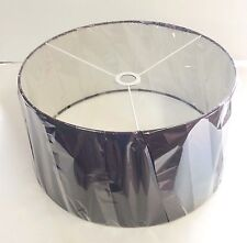 "Lamp Shade for Lumisource Salon Floor Lamp in Black - 17.75"" Diameter x 9"" High"