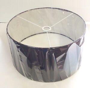 "Lamp Shade for Lumisource Salon Floor Lamp in Black - 17.75"" Diameter x 9"" High"