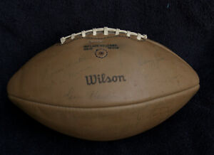 1969 Packers Team Autographed Signed Football 33 Signatures