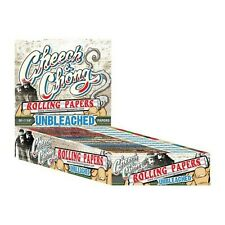 Cheech & Chong Cigarette Rolling Papers Unbleached! Size 1.25 - 25 Packs!