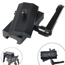 Tactical QD Rotatable Rifle Bipod Adapter for Harris Bipod with Pivot Lock