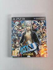 Persona 4 Arena Ultimax PS3 Atlus GIOCO VERSIONE UK