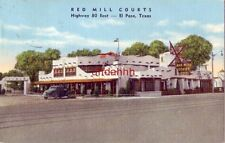 RED MILL COURTS Highway 80 East EL PASO, TX 1947