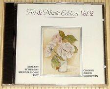 Art & Music Edition vol. 2-Romantic Piano Pieces-Mozart, Schubert, Liszt etc