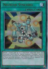YU-GI-OH CARD: NECROID SYNCHRO - ULTRA RARE - DUSA-EN015 - 1ST EDITION