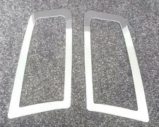 FOCUS RS MK2 STYLE ABS PLASTIC UNDER BONNET VENT TRIM PLATES MIRRORED CHROME