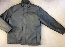 Next-cuir noir look straight jacket avec haut col-âge 16y