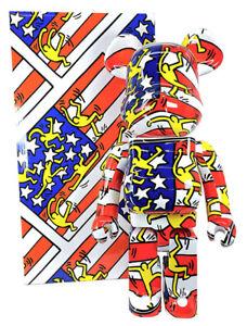 Keith Haring American Flag 1000% Bearbrick #7 Medicom Be@rbrick DCON 2020 Rare