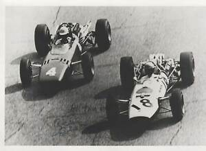 RICHIE GINTHER - ORIG SIGNED PHOTO: DECEASED F1-GP-DRIVER
