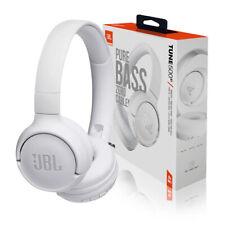 JBL Tune 500BT Wireless Bluetooth On-Ear Headphones w/Built-In Microphone White