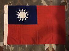 Original Ww2 China Flag Us Flying Tiger Vet Wwii Chinese Nationalist Cbi Chinese