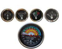 IH Farmall 340 Tractor Gas/Dsl Tachometer Temp Oil Pressure Amp Fuel Gauge