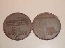 1981 Porsche Christophorus Calendar Coin Münze RARE Awesome L@@K