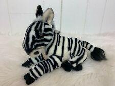 Zippy Zebra Plush Toy Stuffed Animal Jungle Joes Safari Friends Makes Noises