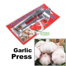 Hot Premium  Aluminum Press Crusher Home Kitchen Tool Garlic Press Ginger Kit