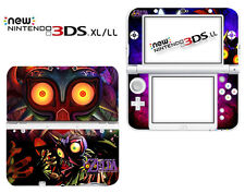 54#THE LEGEND OF ZELDA MAJORAS MASK Decals Skin Stickers for Nintendo New 3DS XL