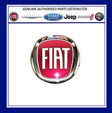 New Genuine FIAT BUMPER/GRILLE BADGE/ Emblem Fiat 500, Grande Punto,Panda 2003/-