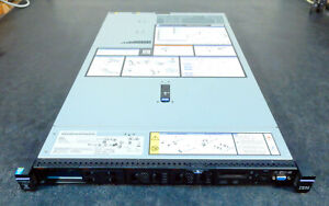 IBM X3550 M5 1U Server E5-2630V3 2.4GHz 64GB ServerRAID M1215     (3c12)