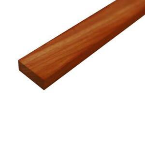 """Padouk Mince Stock Charpente Planches Bois Loisirs Créatifs 1/4 """" X"""