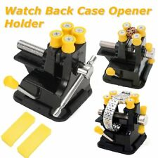 Adjustable Watch Back Case Remover Opener Holder Watchmaker Case Repair Tool