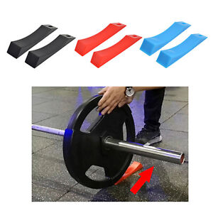 Deadlift Barbell Weight Lifting Equipment Accessories Gym Wedge Unload