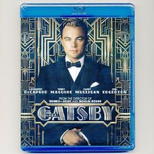 Great Gatsby 2013 PG-13 movie, new Blu-ray F Scott Fitzgerald, DiCaprio, Maguire