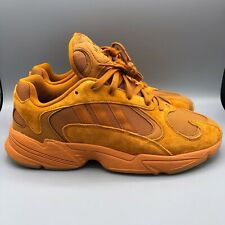 Adidas Yung-1 Ochre Orange Size 11.5 F36917 DBZ Yeezy Boost
