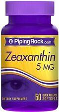 Zeaxantina 5 mg 50 perlas
