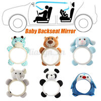 Animal Car Baby Back Seat Rear View Mirror for Infant Child Toddler Safety