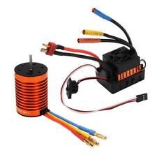 Brushless Motor w/ Waterproof 60A ESC Combo Kit For 1/10 RC Car  RC763 9T 4370KV