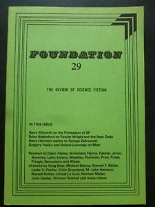 FOUNDATION; THE REVIEW OF SCIENCE FICTION No. 29, Nov 1983 – Harry Harrison