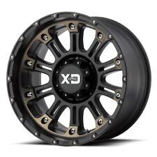 17 Black Wheels Rims Dodge Ram 2500 3500 8x65 Lug Xd Series Hoss 2 Xd829 Set 4