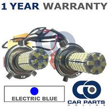 2x Canbus Blu h4 120 SMD LED Lampadine fascio anabbagliante per Ford Fiesta Fusion Transit