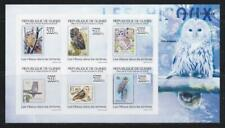 GUINEA 2013 BIRD STAMPS OWLS IMPERF SS MNH - BIRDL696
