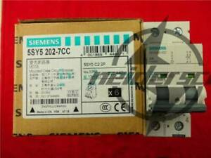 1PC New FOR SIEMENS Motor Protection Circuit Breaker 5SY5202-7CC 2P 2A